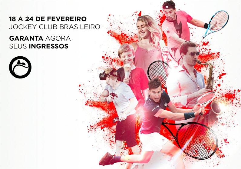 Rio Open: experiência muito além do saibro